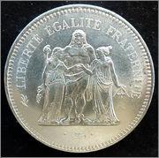 "Francia - 50 francos ""Hércules"" - 1977 Francia_50_francos_1977r"