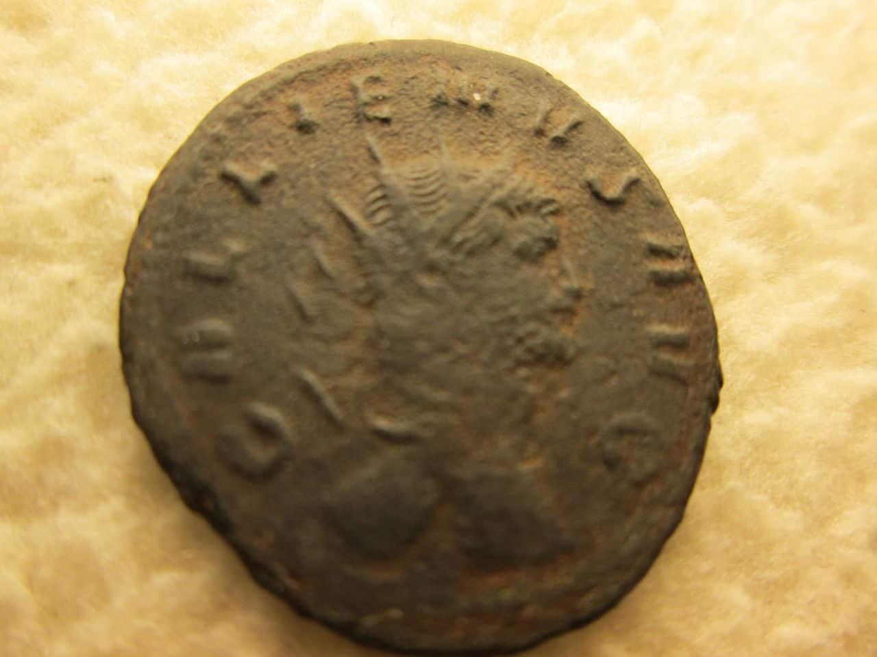 Antoniniano de Galieno. DIANAE CONS AVG. Antílope o gacela. IMG_1135