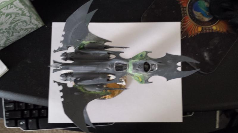 All Plastic Dark Eldar Voidbomber