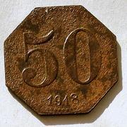 De necesidad y de guerra: monedas de la I Guerra Mundial Guben-a