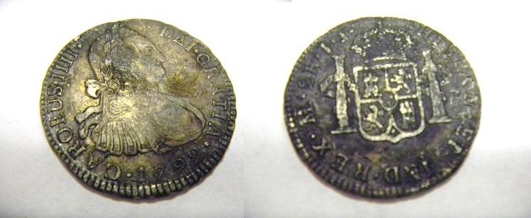 2 Reales 1792 Carlos IIII  lima  57_13