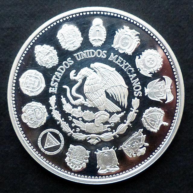 """México - 100 pesos (1991) - """"Columnario"""" Me_xico_100_r"""