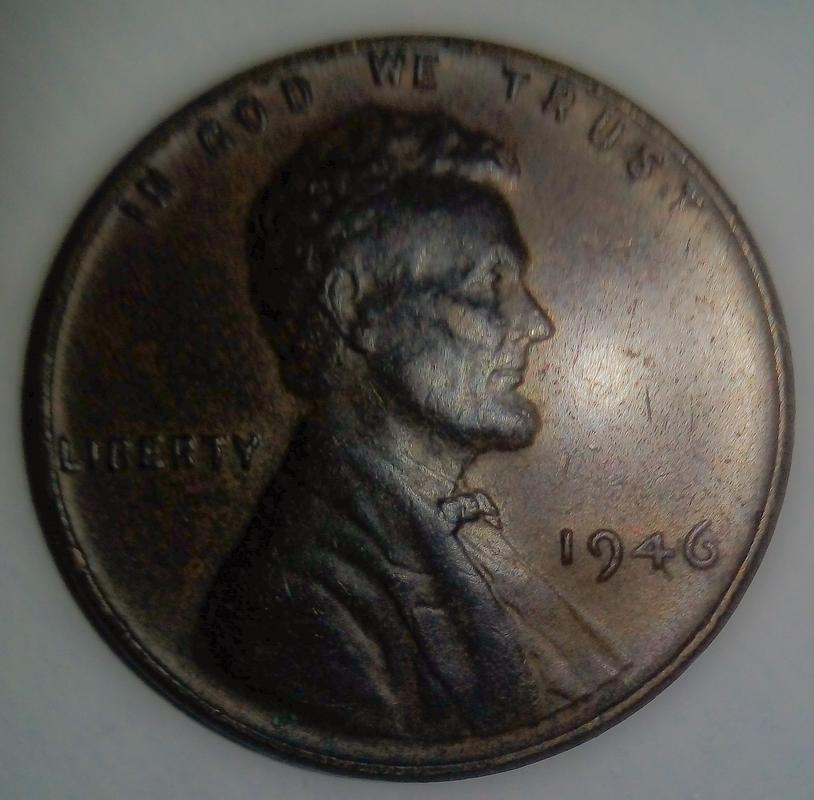 """Centavo de dólar de 1946 POSIBLE ERROR DE ACUÑACIÓN EN LA N DE """"CENT"""" PSX_20170905_131400"""