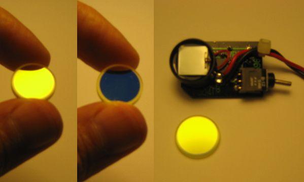 Medir potencia de un LASER Filtro_laser