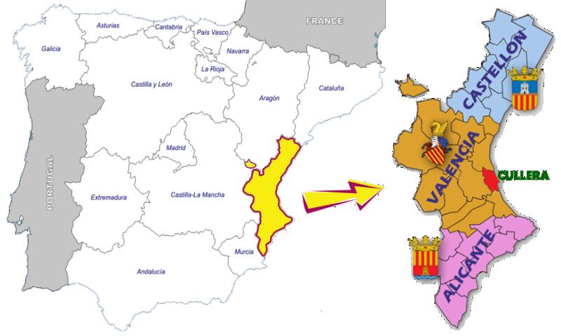 4ª CONCENTRACIÓN ASOCIACION PAN-EUROPEAN 2019 (INFORMACION Y RESERVAS) Cullera_Mapa