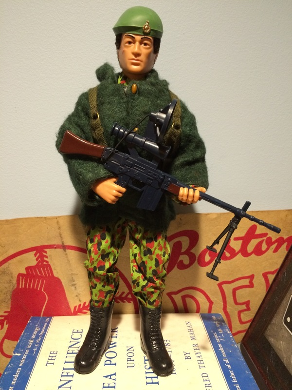 Commando attired for cold-weather action Image