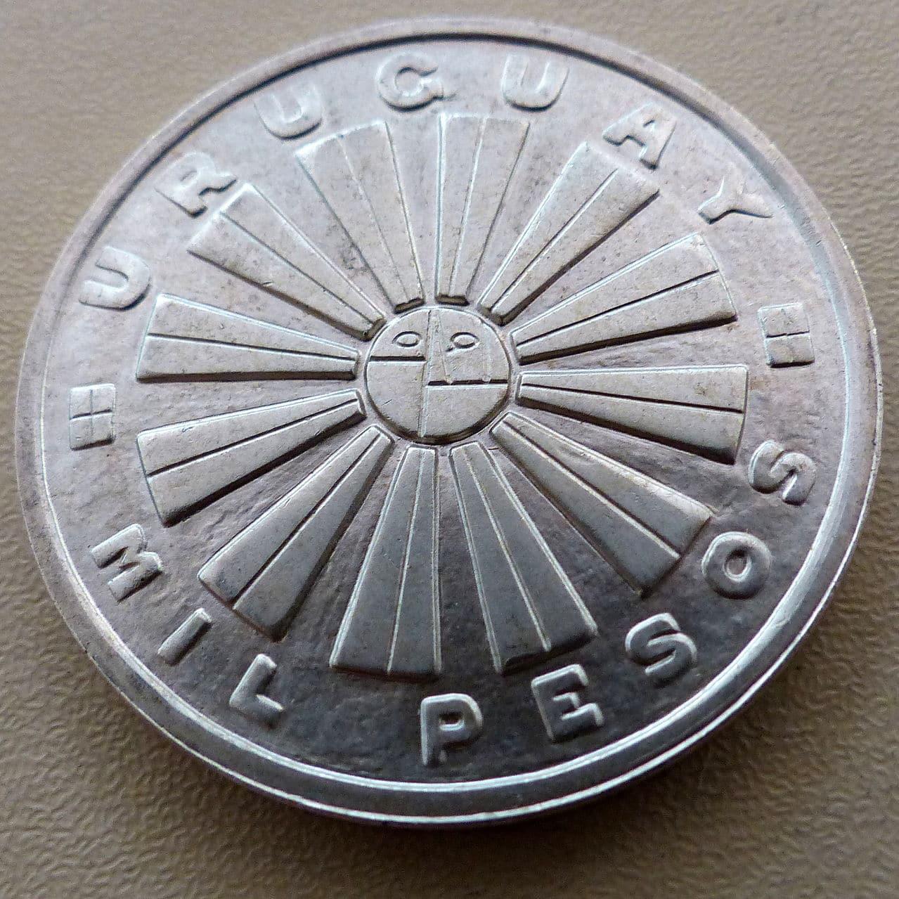 Uruguay - Mil pesos 1969 - FAO - Variante lágrima Mil_pesos_FAO_a