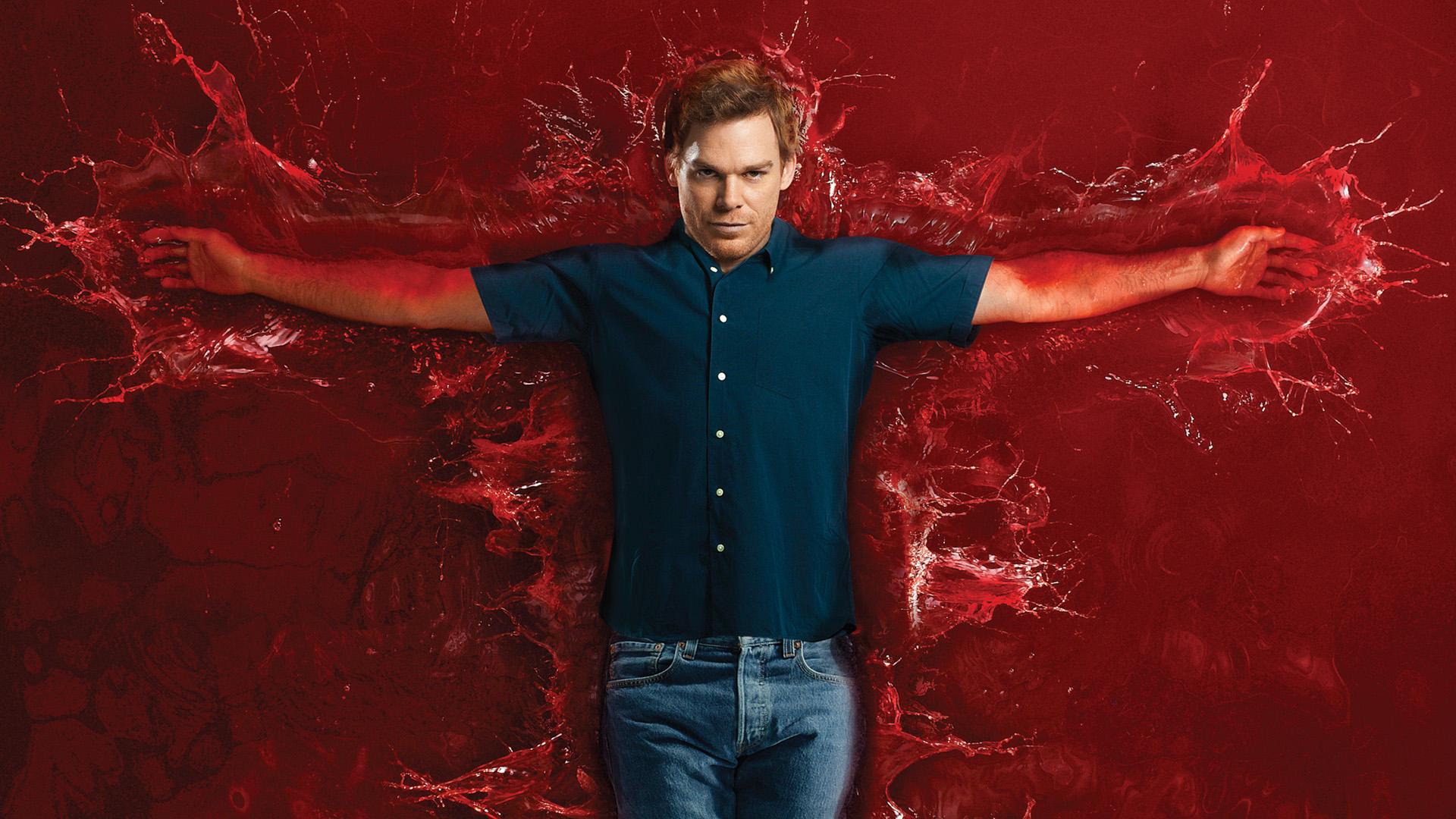 Dexter|Colección 1-8|Latino-Ingles|1080p|96/96|x265 10bit|+ Soundtracks  Banner
