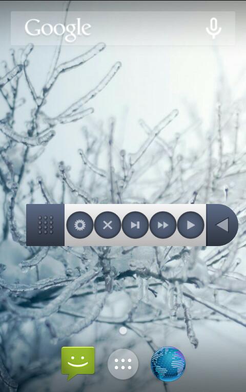 [APPLICATION ANDROID - SMART SCROLL TOOLS] Défiler votre écran en utilisant des boutons [Gratuit] Screen3