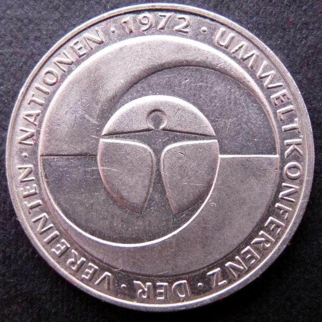 Alemania - 5 marcos - 1982 - Conferencia Medioambiental Naciones Unidas Alemania_5_Marcos_a