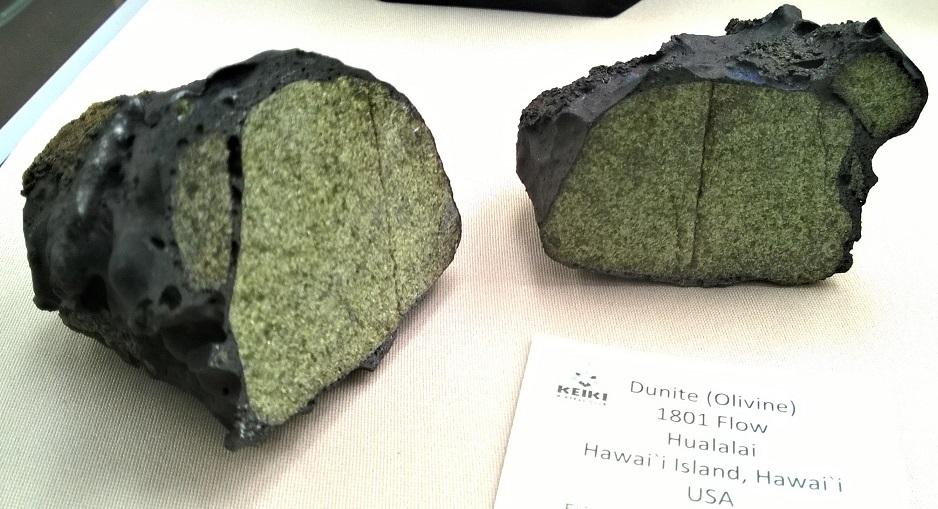 Volcanic Bomb Dunite