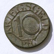De necesidad y de guerra: monedas de la I Guerra Mundial Dortmund-a