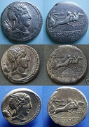 REPUBLICANAS - Página 2 L__Julius_Bursio_denarius_85_BC_Identified_by_CF