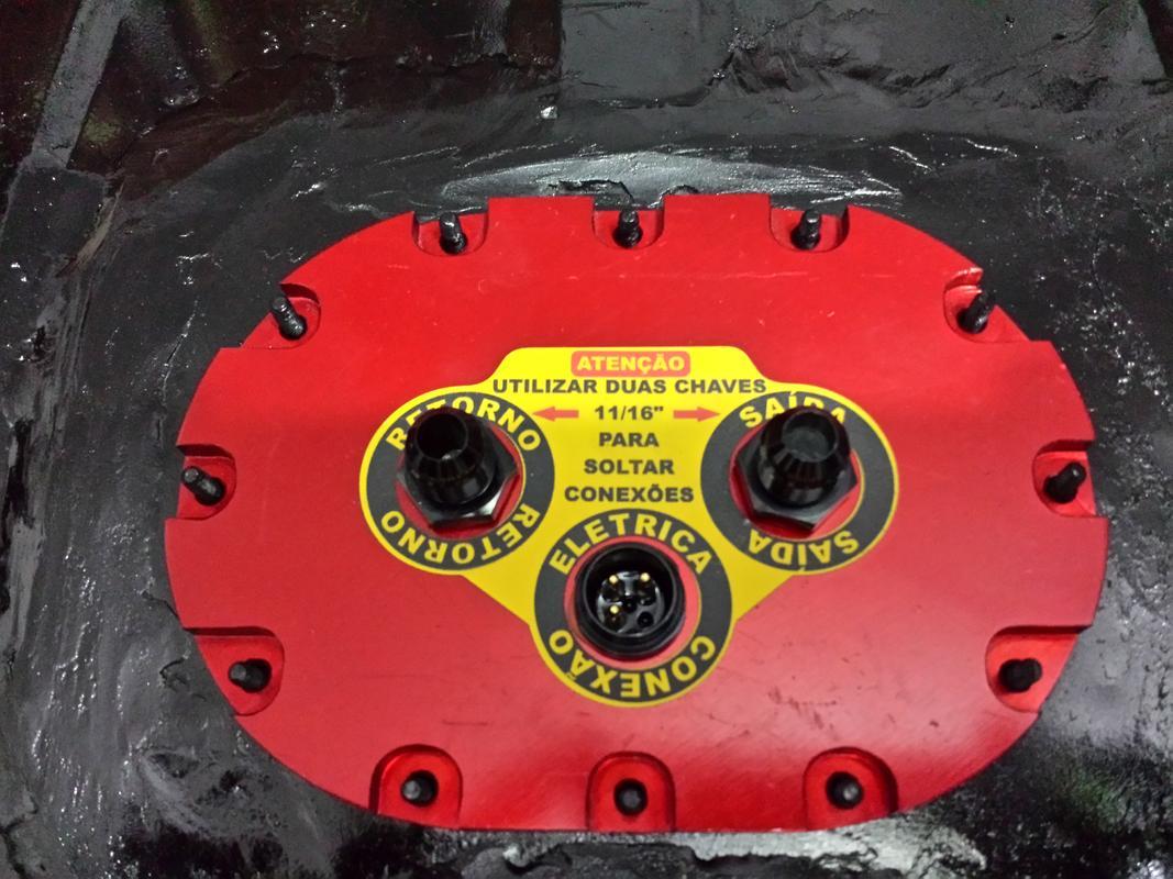 Bomba Eletrica Dentro do Tanque (Bomba Marca Euro é RUIM) 20160911_182649