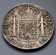 8 reales 1808. Fernando VII. México. TH DSC_5929