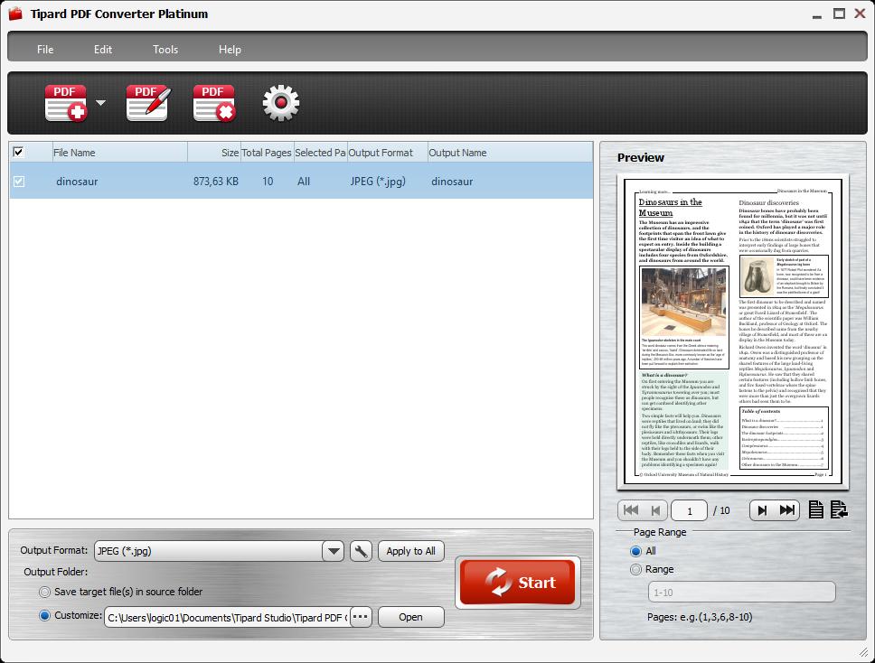 Tipard PDF Converter Platinum 3.3.12 Multilingual 00698
