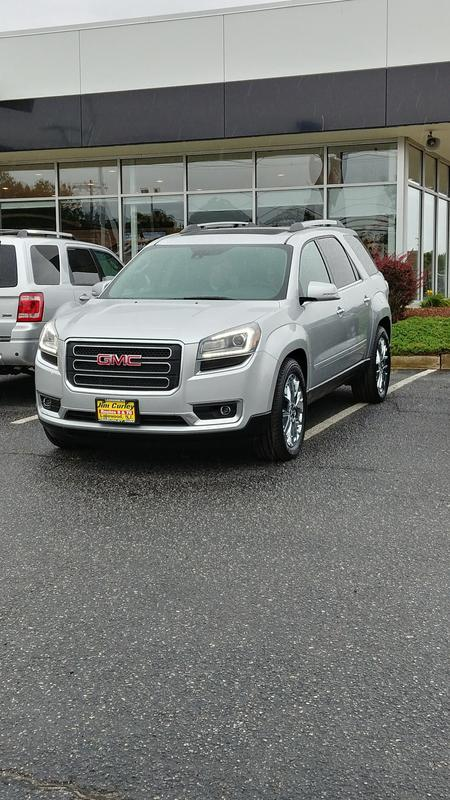 What to buy, SUV? 2017_Acadia