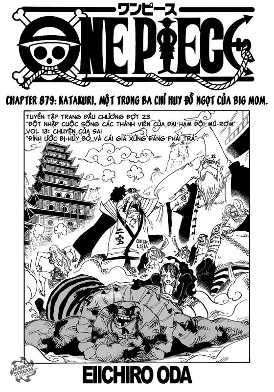 [BẢN VIỆT] ONE PIECE CHAPTER 879: Katakuri, một trong ba chỉ huy đồ ngọt của Big Mom Image