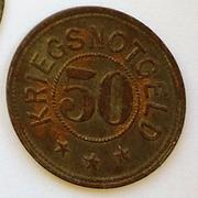 De necesidad y de guerra: monedas de la I Guerra Mundial Schmiedeberg-a