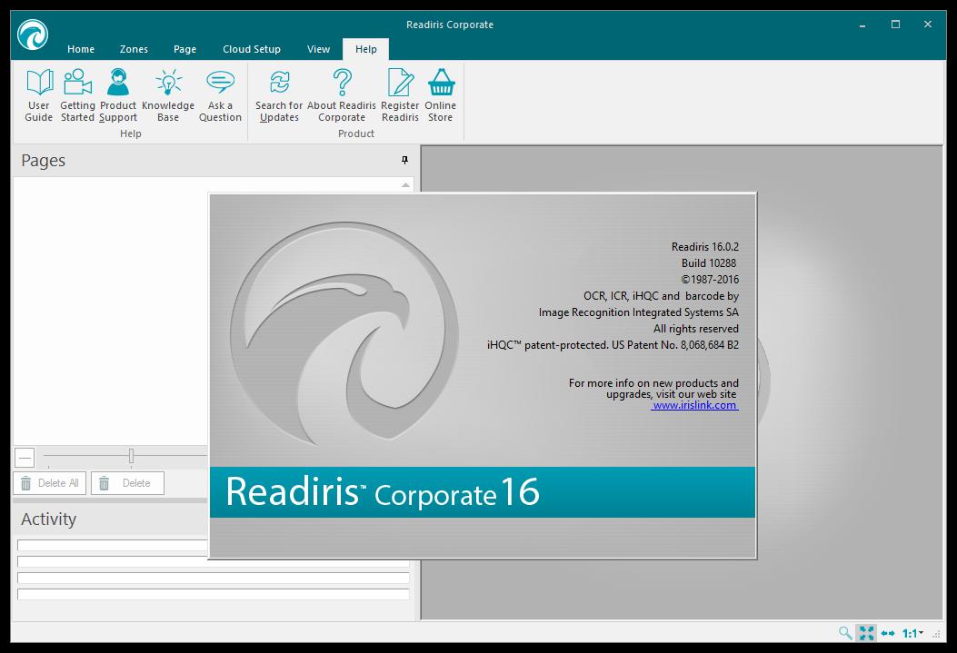 Readiris Corporate 16.0.2 Build 10288 Multilingual Portable 00806