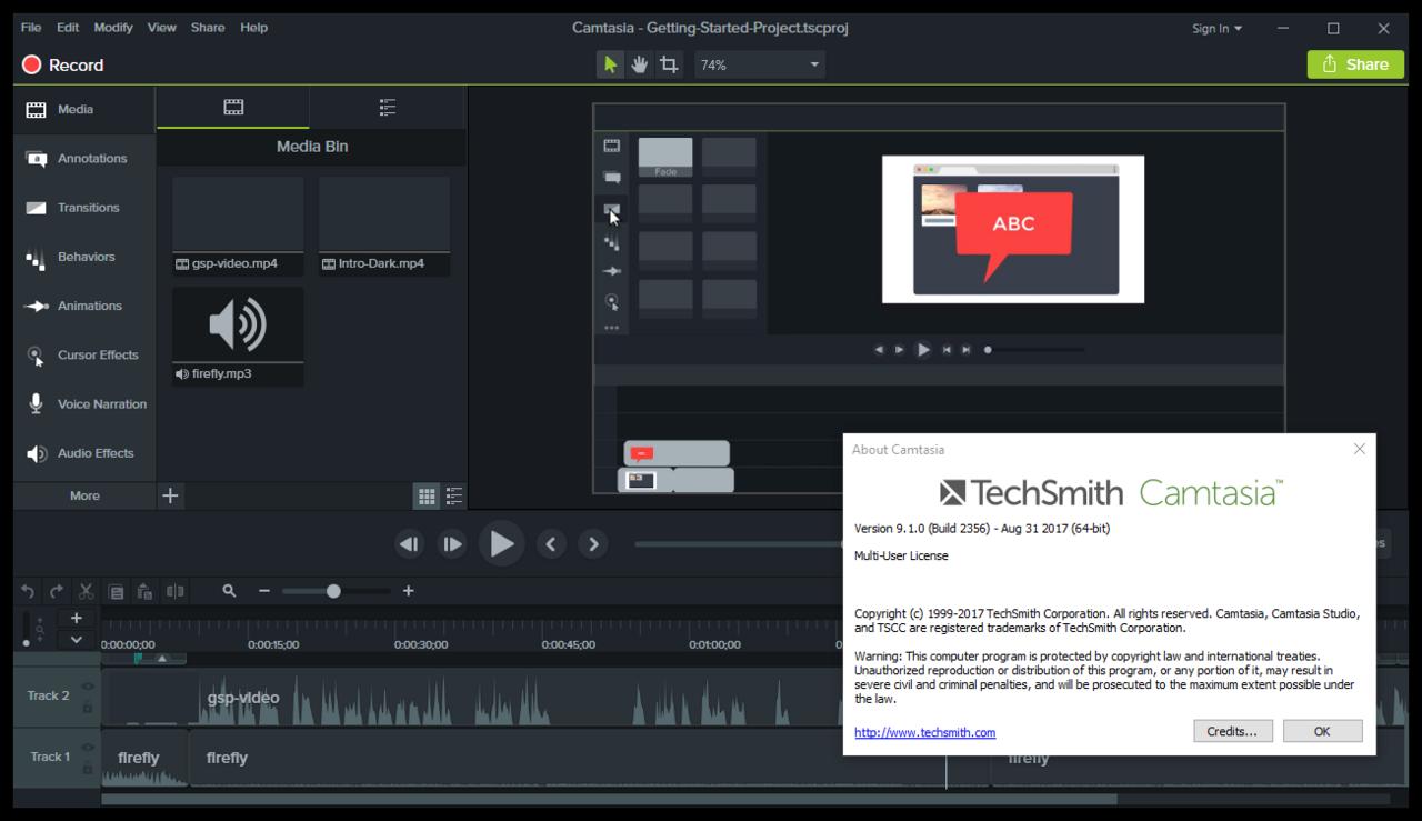 TechSmith Camtasia Studio 9.1.0 Build 2356 (x64) Portable 00790