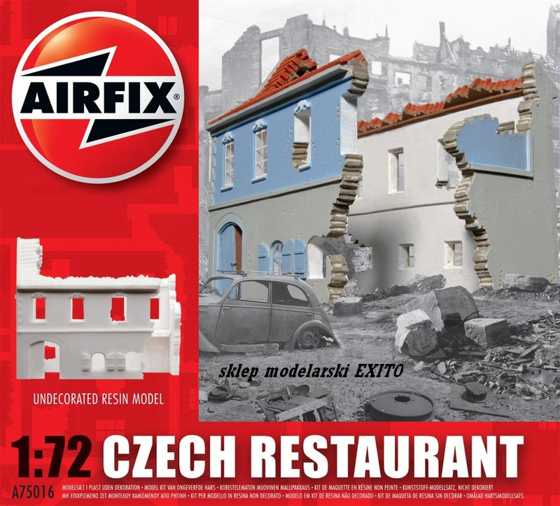Project : Airfix Strongpoint  or Measure once , cut twice..the prototype. - Page 2 Restaurant