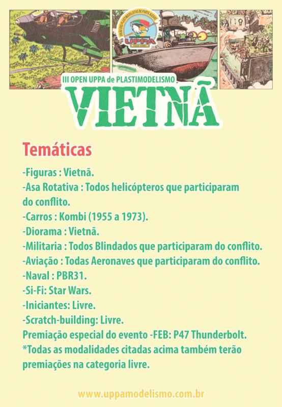 III Open Uppa de Plastimodelismo  Cartaz_Tem_ticas_III_Open