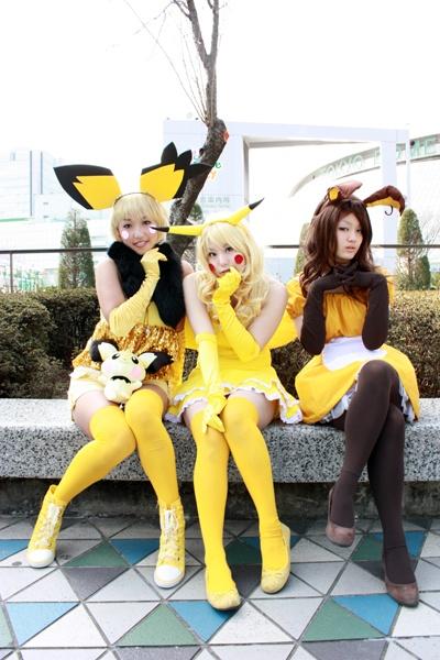 Algunos buenos cosplays (disfraces) de pokemon Pichux3
