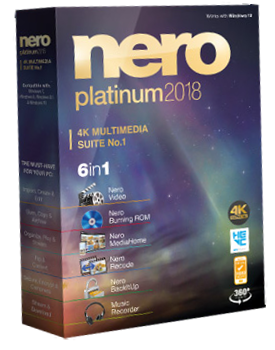 Nero Platinum 2018 Suite 19.0.07000 + Content Pack Multilingual Untitled