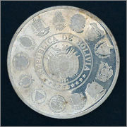 Bolivia-1991 - 10 Pesos bolivianos - I Serie Iberoamericana Bolivia_10_B_rr