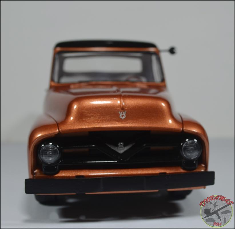 Ford F100 1955 Monogram 1/25 DSC_0391