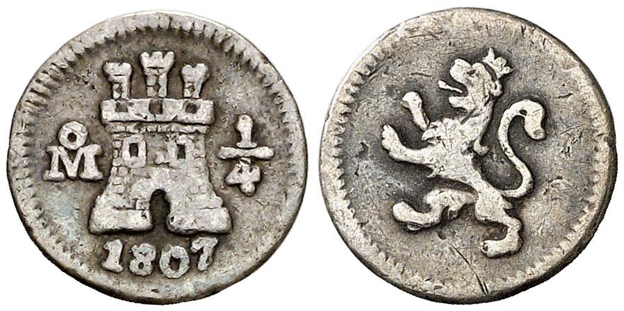 1/4 MEXICO CAROLUS IV 1379
