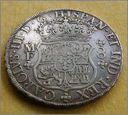 8 reales 1766. Carlos III. México. Dedicada a flekyangel y a Lanzarote 1766_Mo_CIII_aa