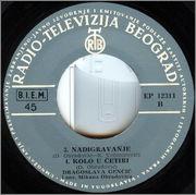 Dragoslava Gencic - Diskografija  1967_2_z_b