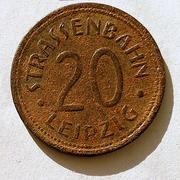 De necesidad y de guerra: monedas de la I Guerra Mundial Leipzig-a