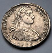 8 reales 1808. Fernando VII. México. TH DSC_5928