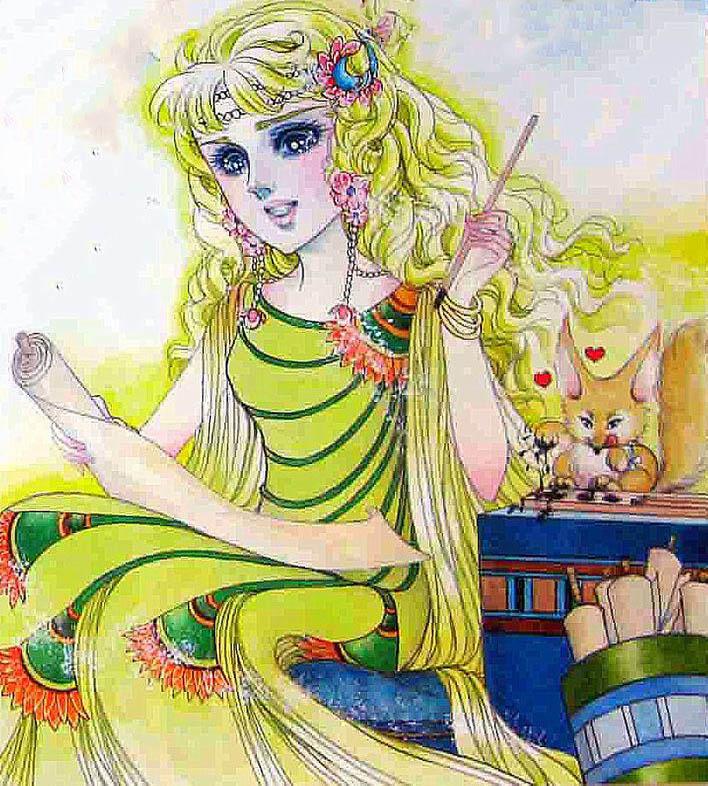 Hình màu Carol trong bộ cô gái sông Nile (Ouke Monshou) - Page 5 Carol_477
