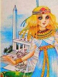 Hình màu Carol trong bộ cô gái sông Nile (Ouke Monshou) - Page 2 Carol_175