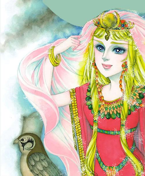 Hình màu Carol trong bộ cô gái sông Nile (Ouke Monshou) - Page 3 Carol_271