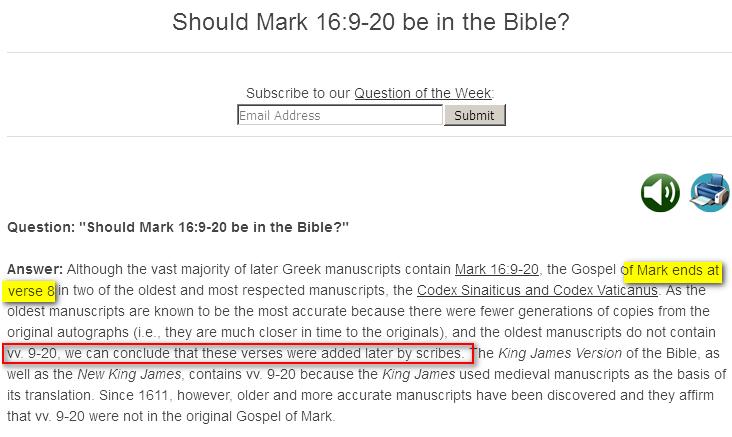 Bible est Falsifiée Image