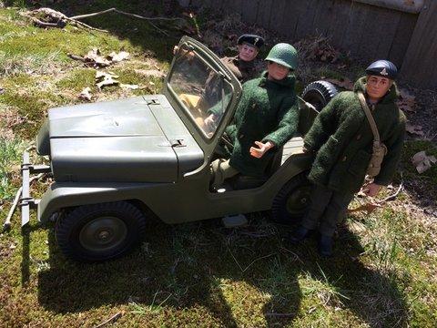 Royal Artillery observer Image