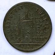De necesidad y de guerra: monedas de la I Guerra Mundial Luetzen-r