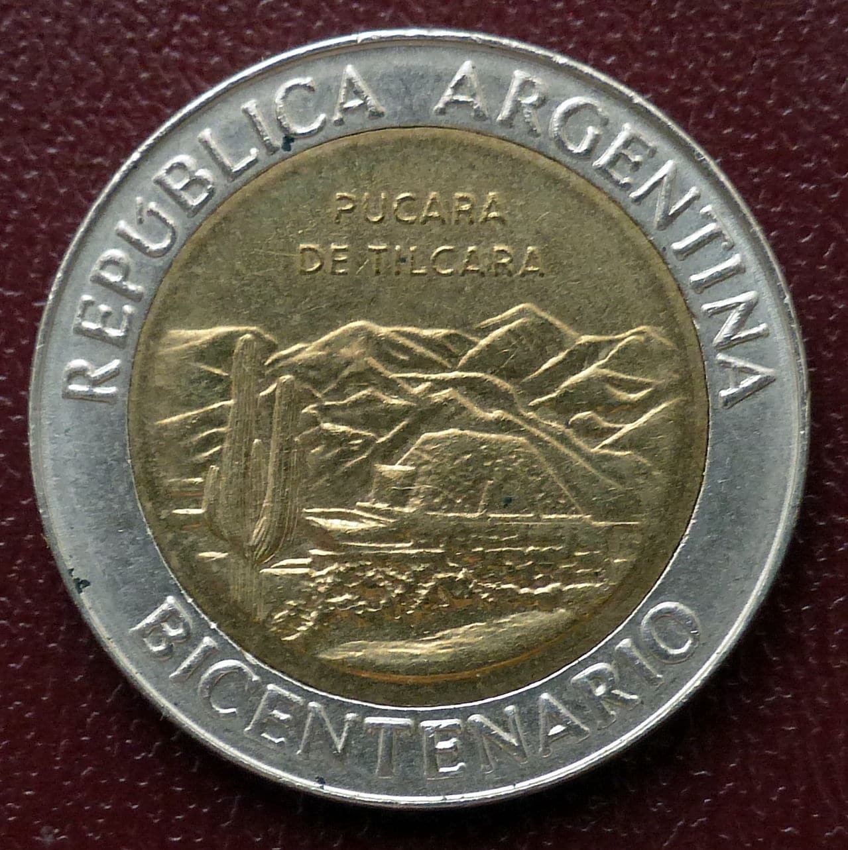 Argentina - Serie 1 peso - Bicentenario 1br