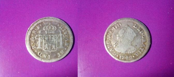 1/2 real Carolus III, México. 1782 IMG_20140412_161857