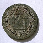 De necesidad y de guerra: monedas de la I Guerra Mundial Frankfurt-_Oder-r