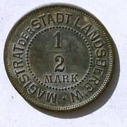 De necesidad y de guerra: monedas de la I Guerra Mundial Landsberg-a