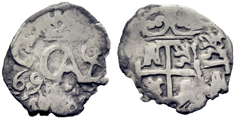 Carolus II macuquina 2105726l