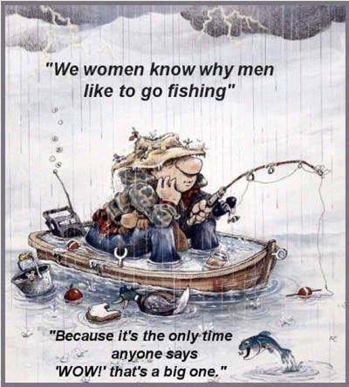 Dating is a lot like fishing… Fishing_women