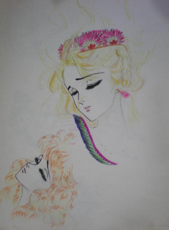 Hình màu Carol trong bộ cô gái sông Nile (Ouke Monshou) - Page 5 Carol_429
