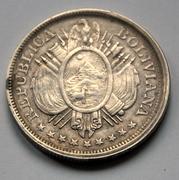 Bolivia - 50 cent. - 1894 DSC_5926